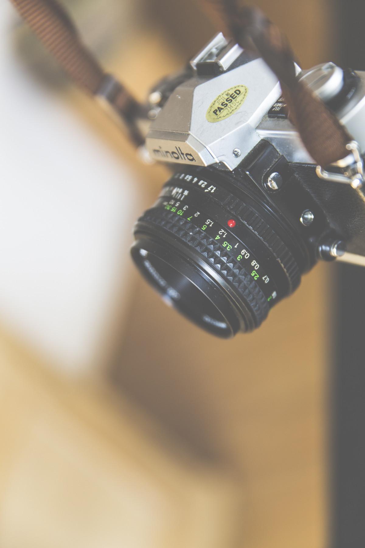 tangan kreatif teknologi kamera fotografi Vintage