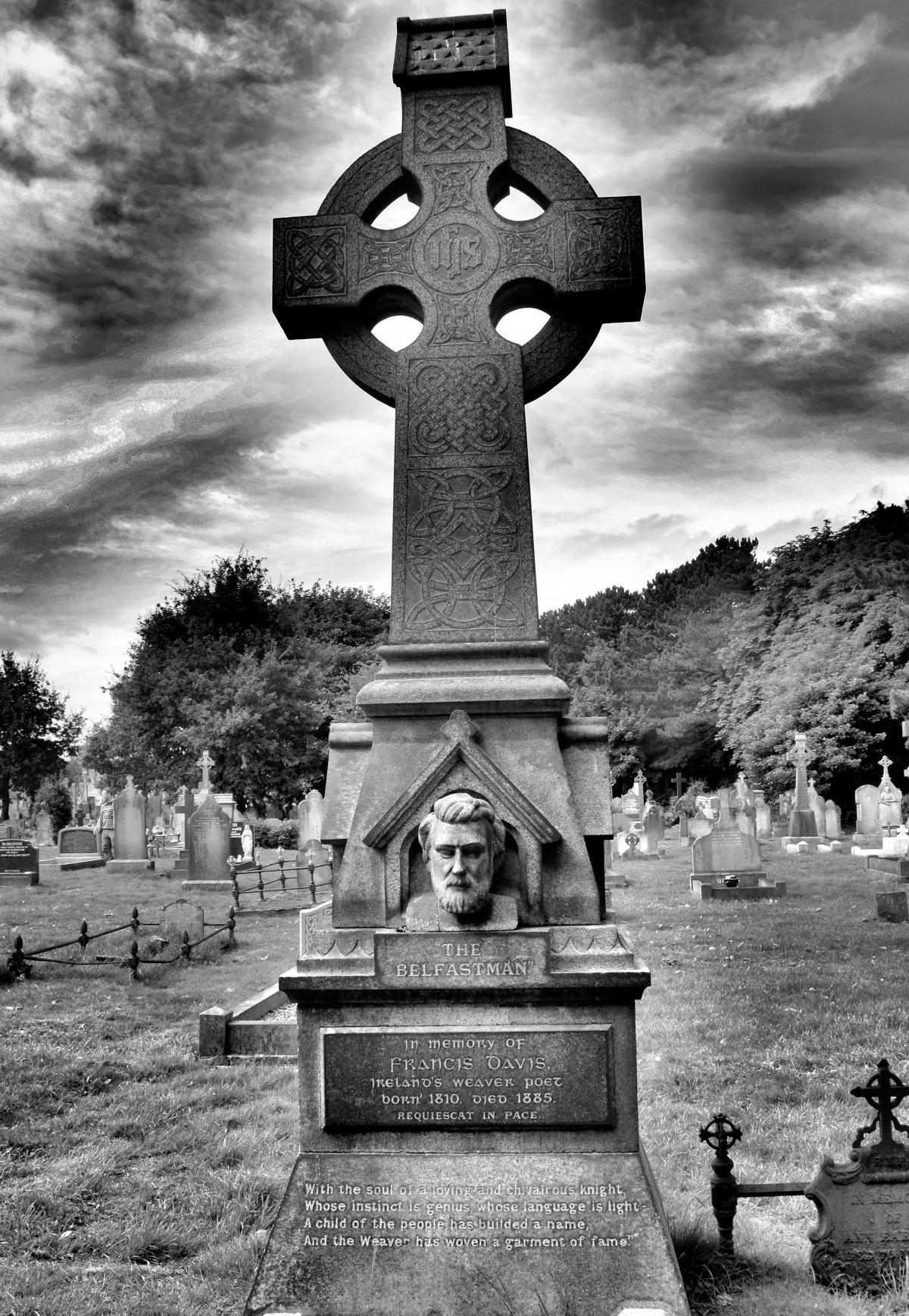 Free Images : belfastman, grave, graveyard, dead, cemetery ...