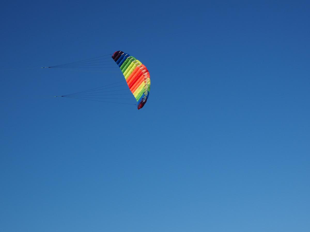 Осень небо голубое
