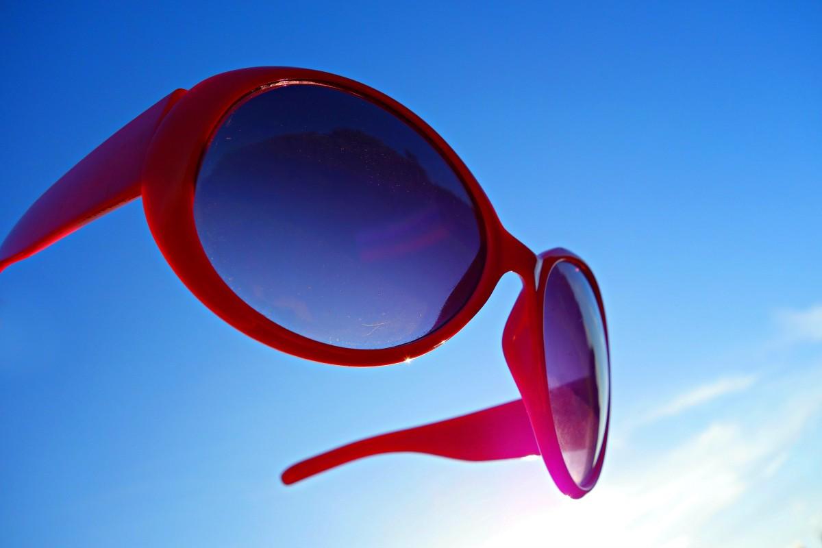 sun red fashion blue circle illustration sunglasses glasses eyewear protection stylish eye wear uv filter fashion accessory vision care