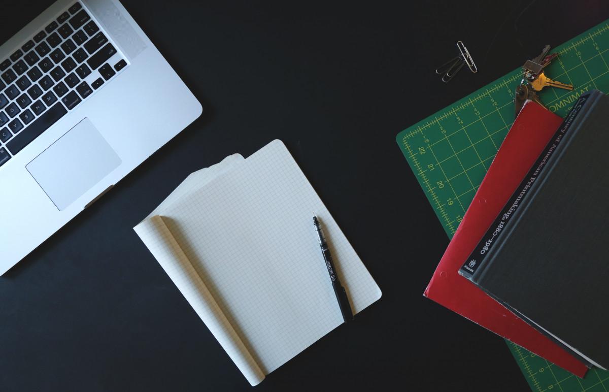 Free Images : laptop, desk, book, pencil, creative ...