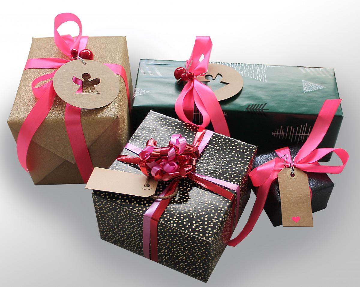 Fotos gratis p talo caja cesta rosado cinta envase - Cinta arbol navidad ...