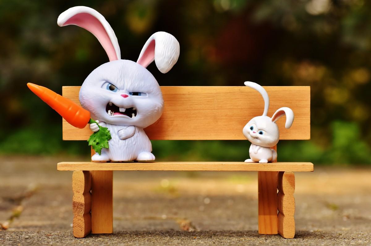 поклонников отбоя злой кролик картинки прикол больше ярусов