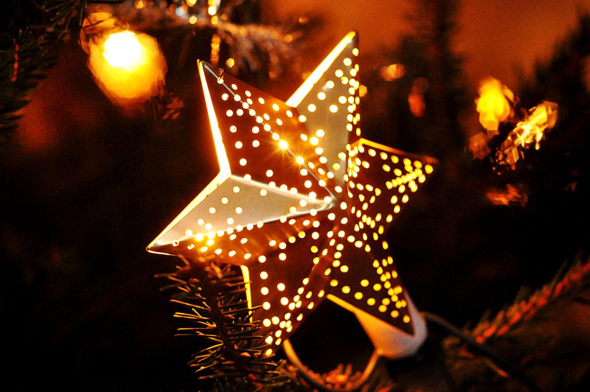 Рождественские звезды картинки