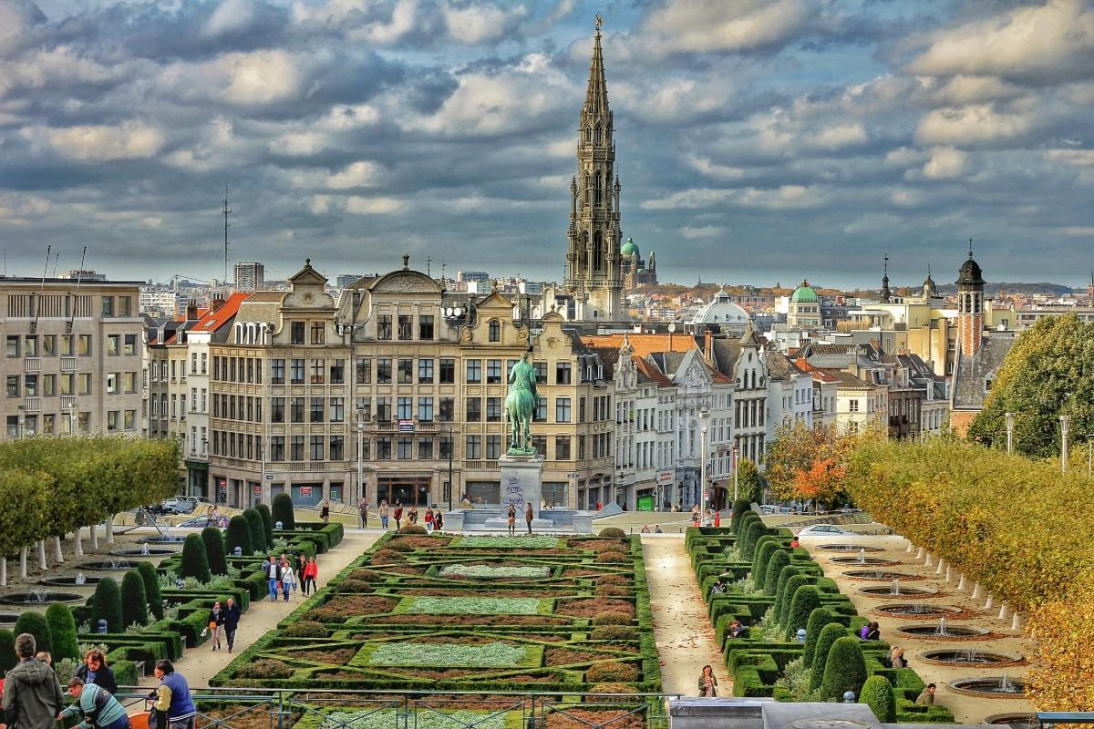 ville château palais ville Paysage urbain place point de repère tourisme voie navigable la Belgique Hdr Bruxelles Place de ville quartier zone urbaine