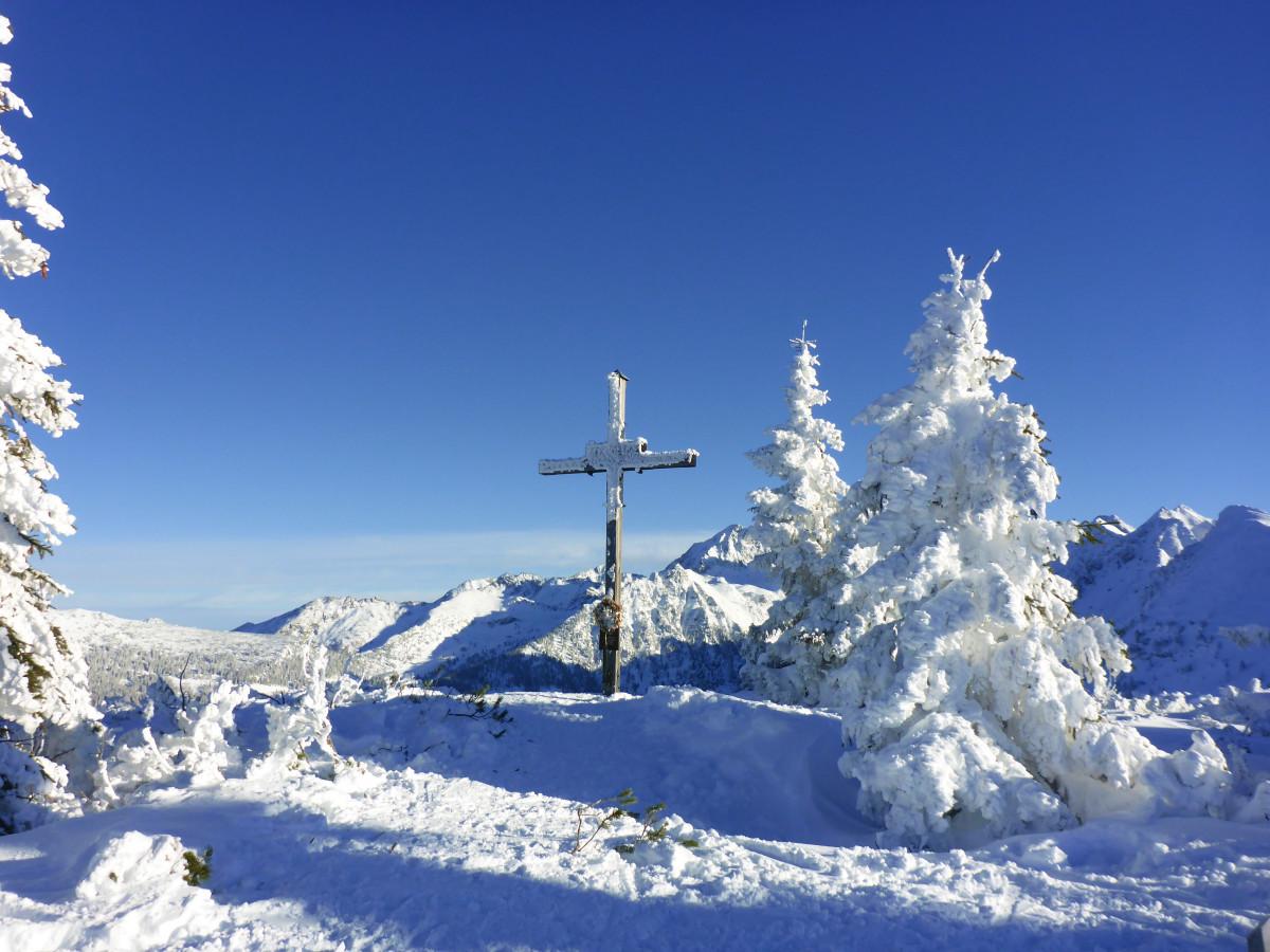 kostenlose foto berg schnee kalt winter sonne