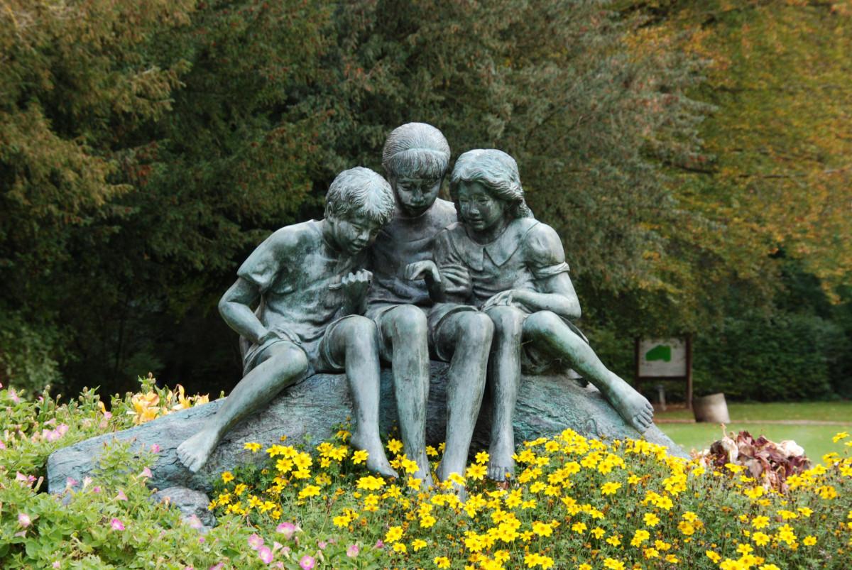 Image Result For Flower Garden Statues