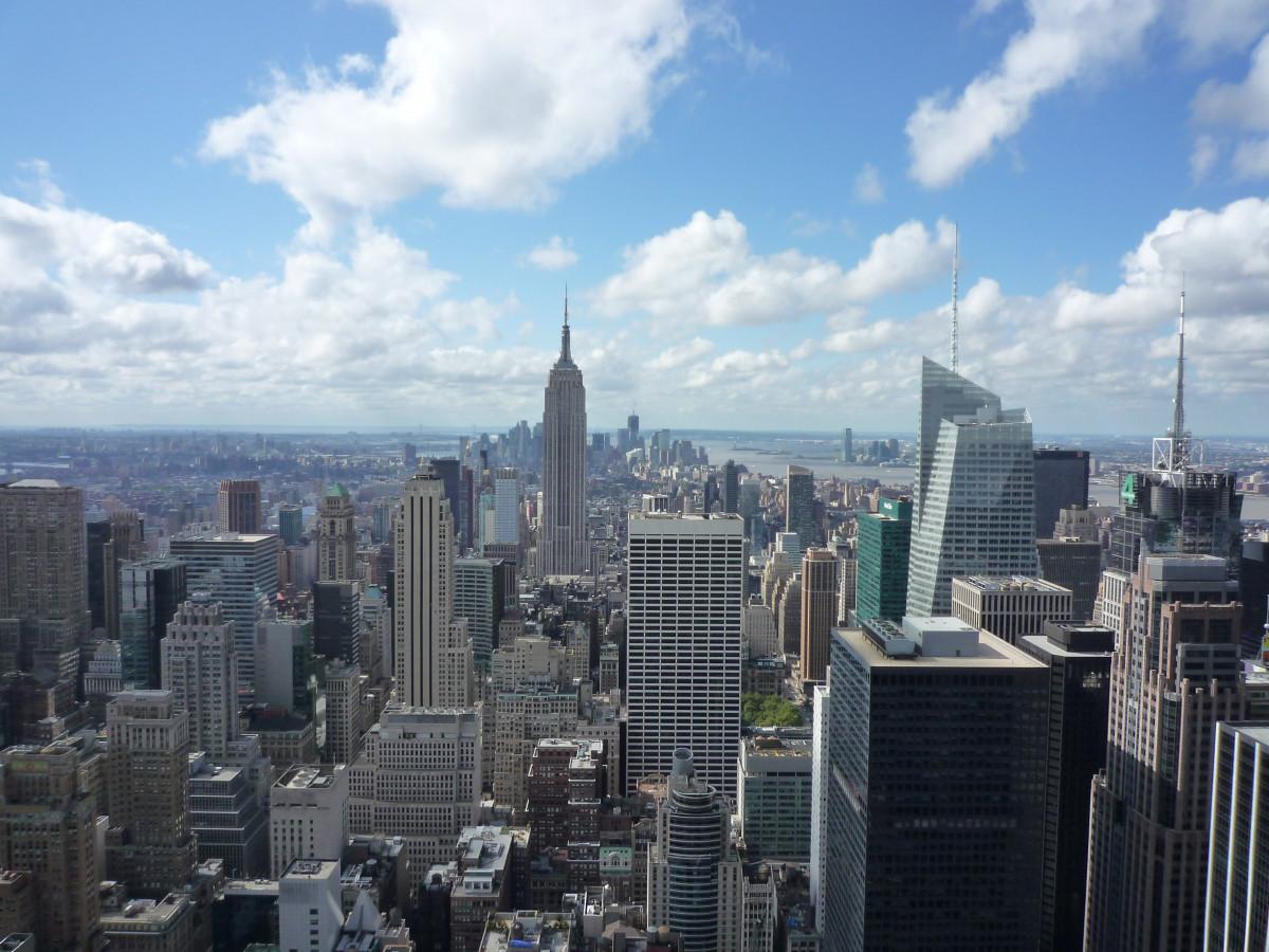 Immagini belle architettura orizzonte strada citt for Appartamento grattacielo new york