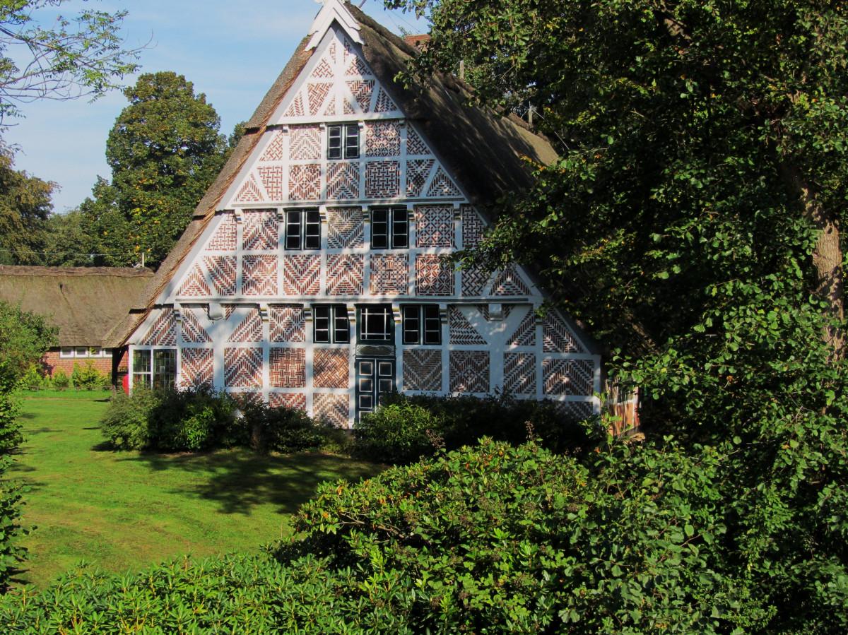 Kostenlose foto baum die architektur bauernhof haus - Bauernhof garten ...