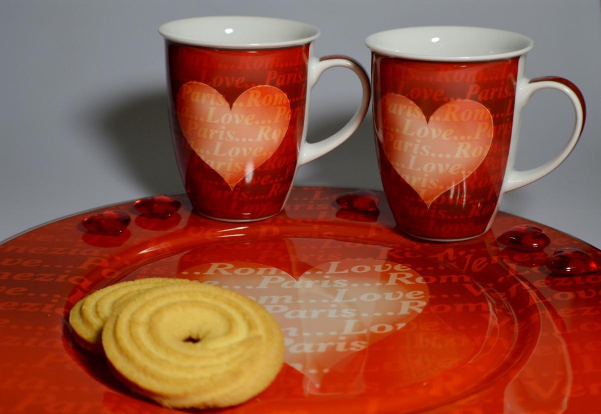kostenlose foto kaffee blume glas tasse liebe herz orange rot untertasse keramik. Black Bedroom Furniture Sets. Home Design Ideas