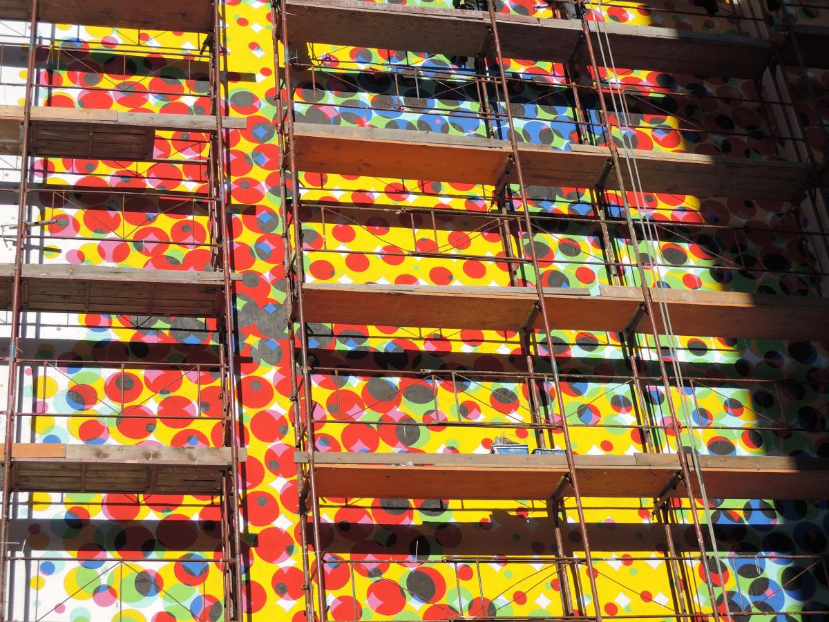 Gambar : jendela, kaca, dinding, pola, warna, desain ...