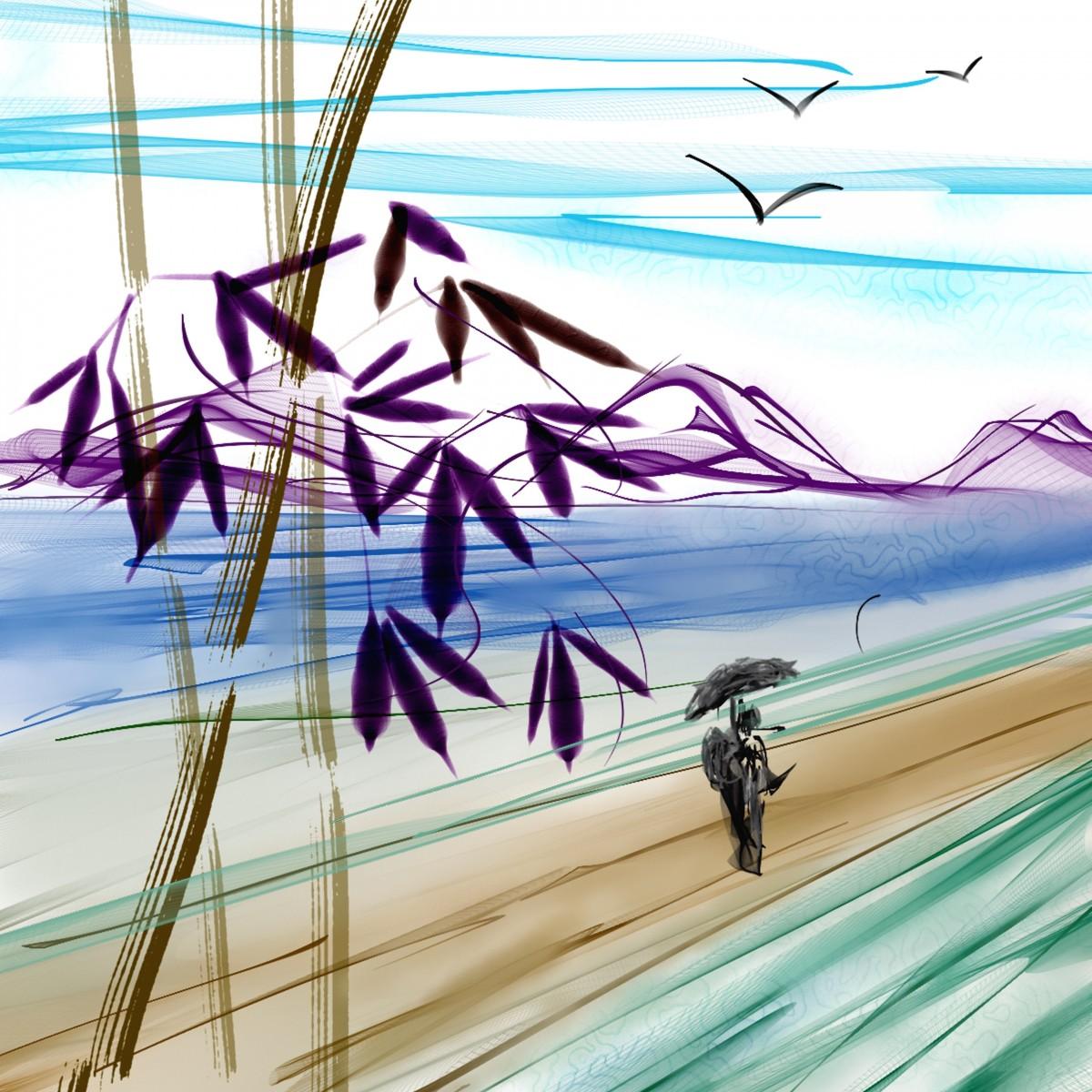 Gambar Asia Jepang Lukisan Seni Pembuat Kaleng Sketsa