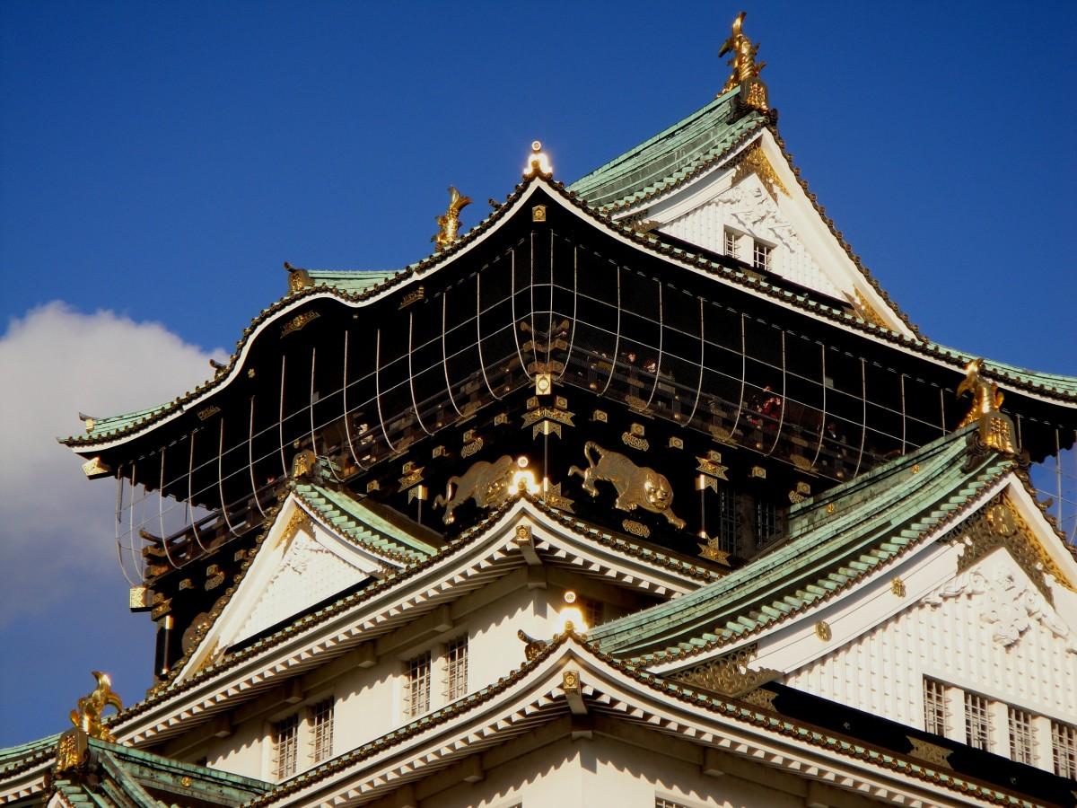 free images : building, old, asian, tower, castle, landmark