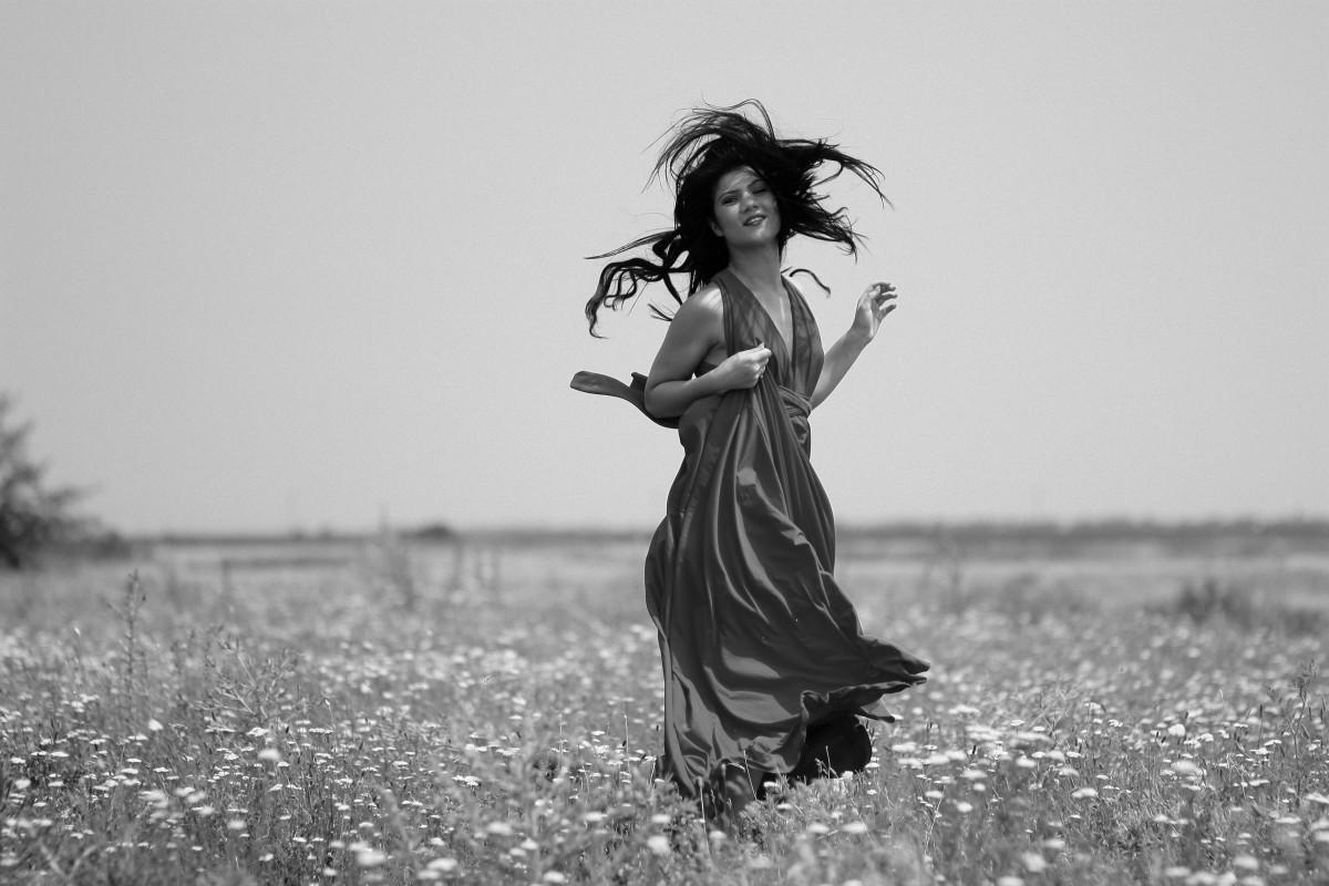 Images gratuites noir et blanc fille femme la for La photographie