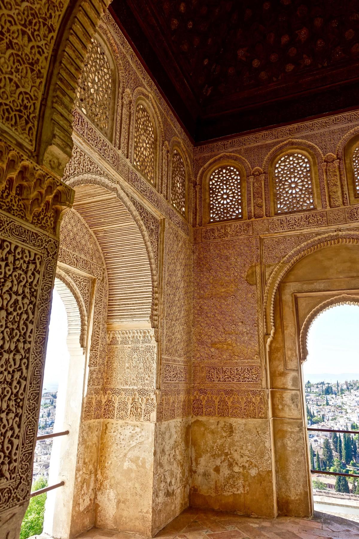 Free images architecture structure wood bridge for Alhambra decoration