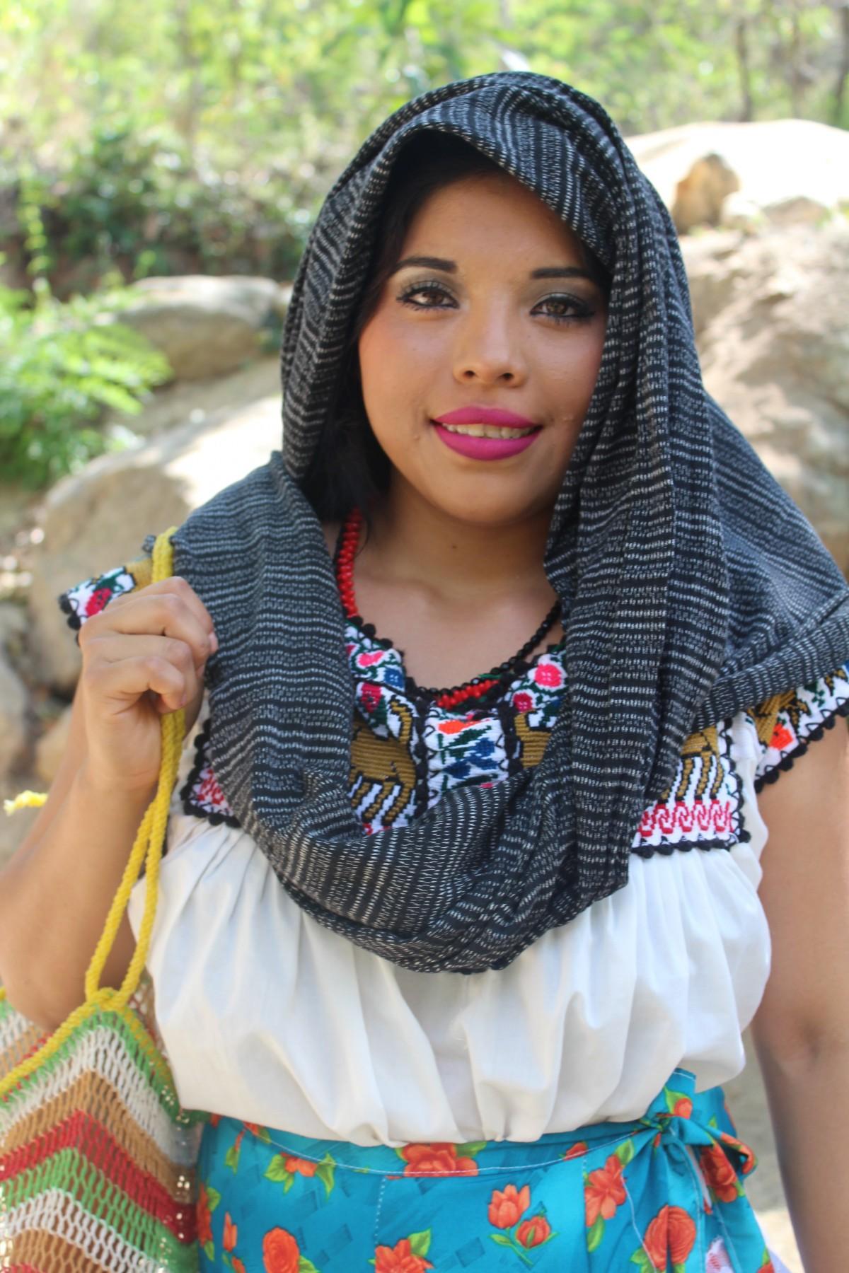 красивые мексиканские женщина фото штамп