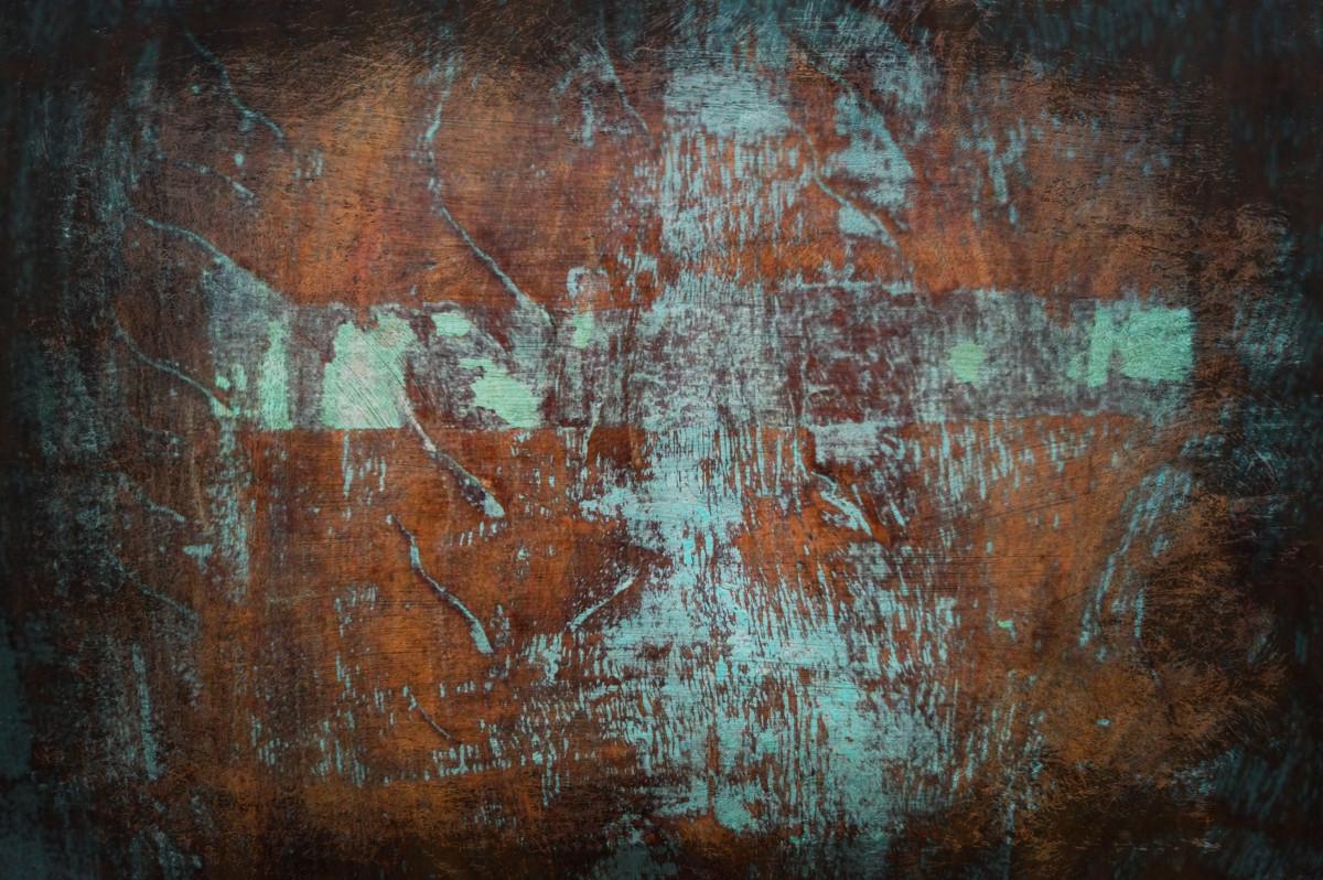 Blue Rust Paint