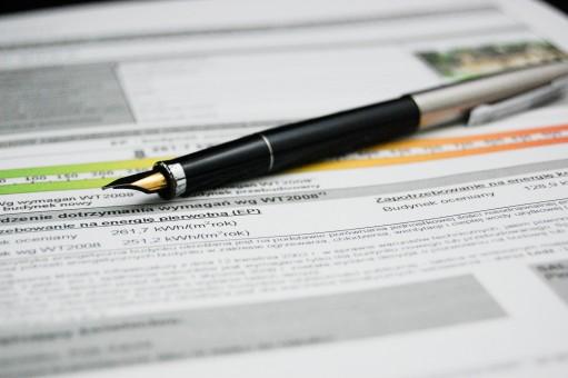 escritura,bolígrafo,firmar,negocio,papel,marca