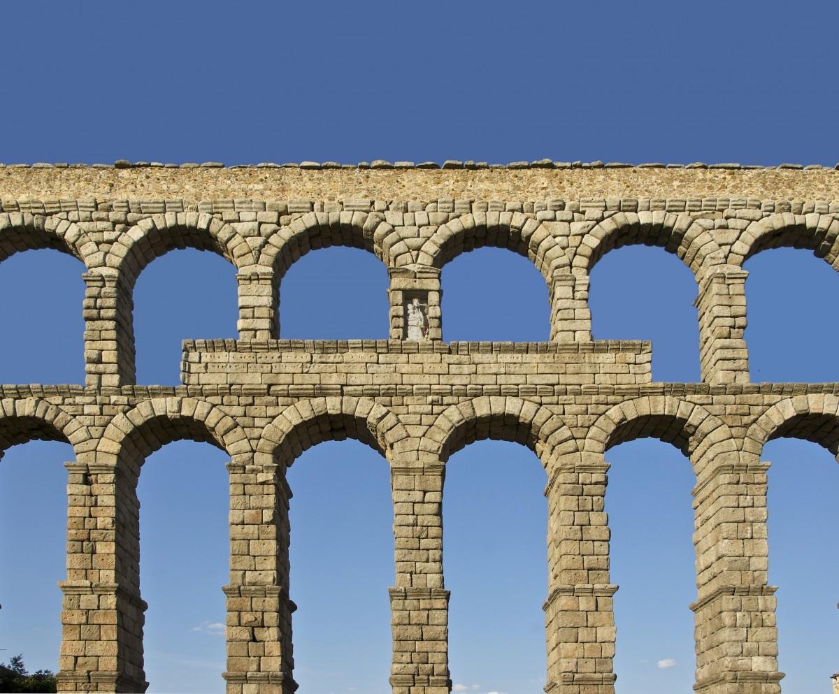 Fotos gratis arquitectura estructura punto de referencia espa a segovia viaducto - Acueducto de segovia arquitectura ...
