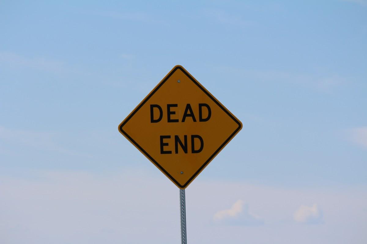 社会 标志 符号 旗帜 通讯 路灯 街道路标 标牌 灯光 图标 交通标志 死路