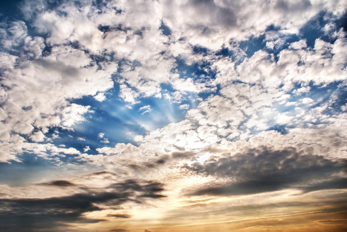 картинки неба с облаками высокого качества