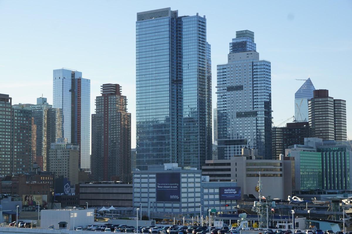 Fotos gratis arquitectura cielo horizonte edificio casa rascacielos nueva york - Apartamentos en nueva york centro ...