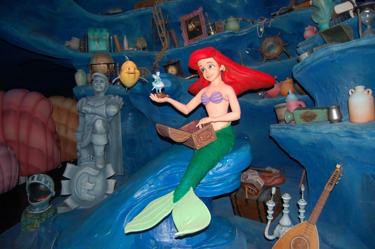 amusement park park toy disney ariel screenshot little mermaid magic kingdom disney world