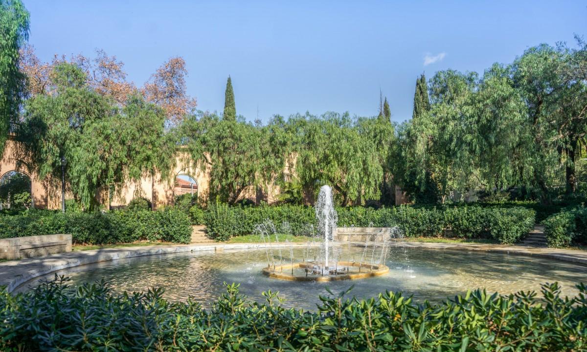 Gambar bunga kolam renang taman kebun raya for Barcelona pool garden 4