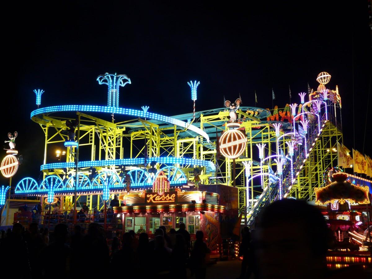 free images   light  night  evening  amusement park  neon  resort  funfair  fair  amusement ride