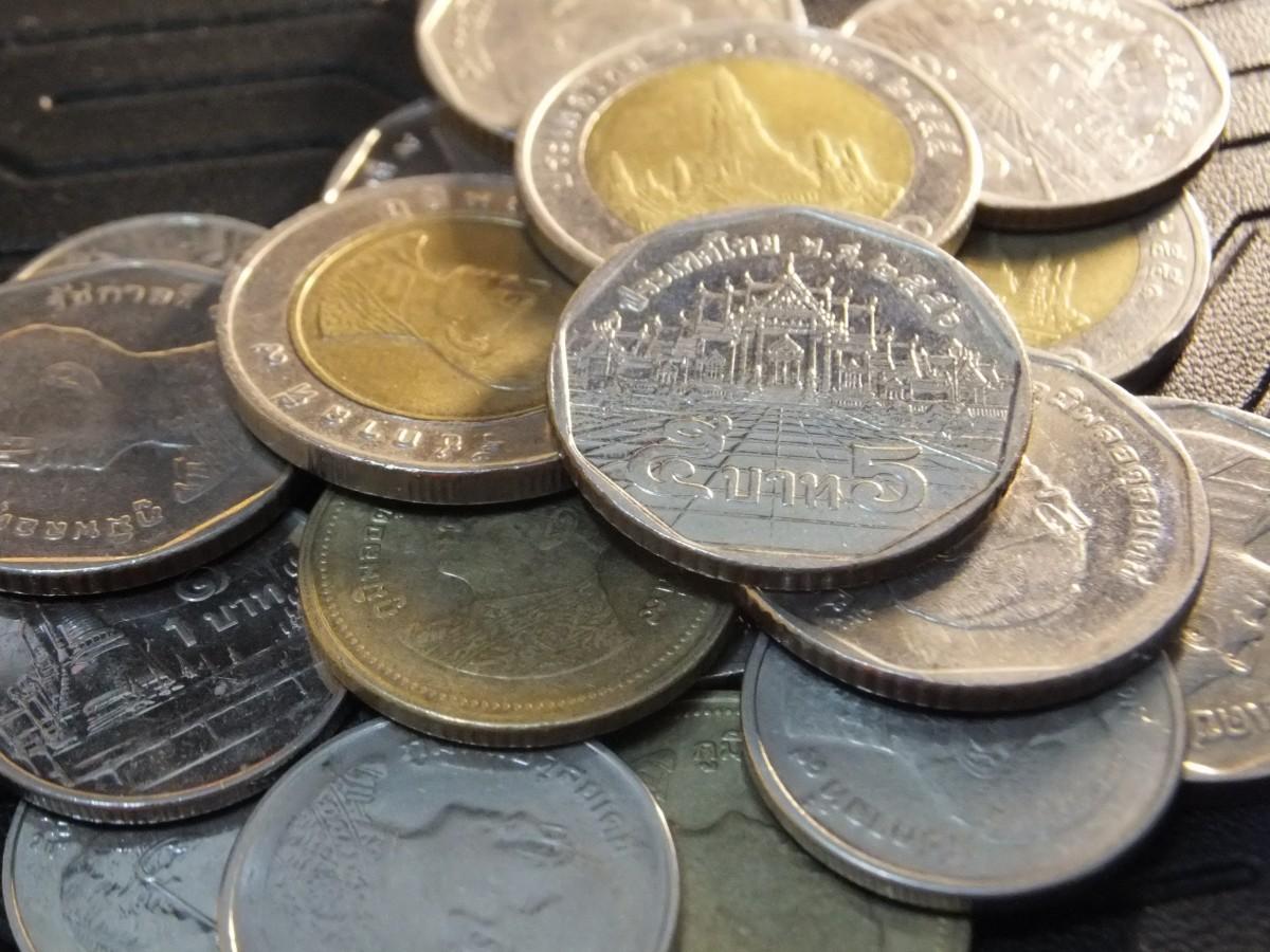 รูปภาพ เงินสด สกุลเงิน ดอลล่าร์ การเงินของไทย