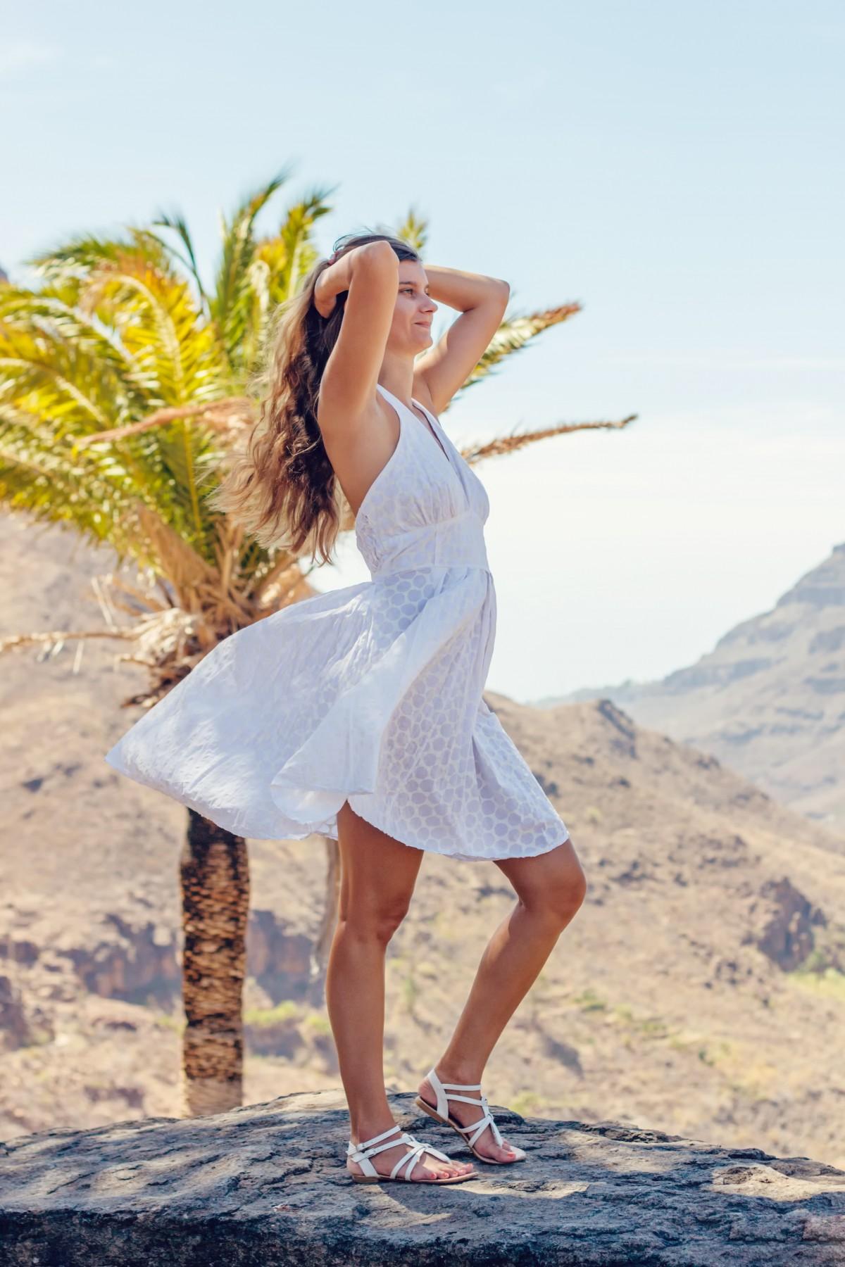 Summer White Girl Fashion