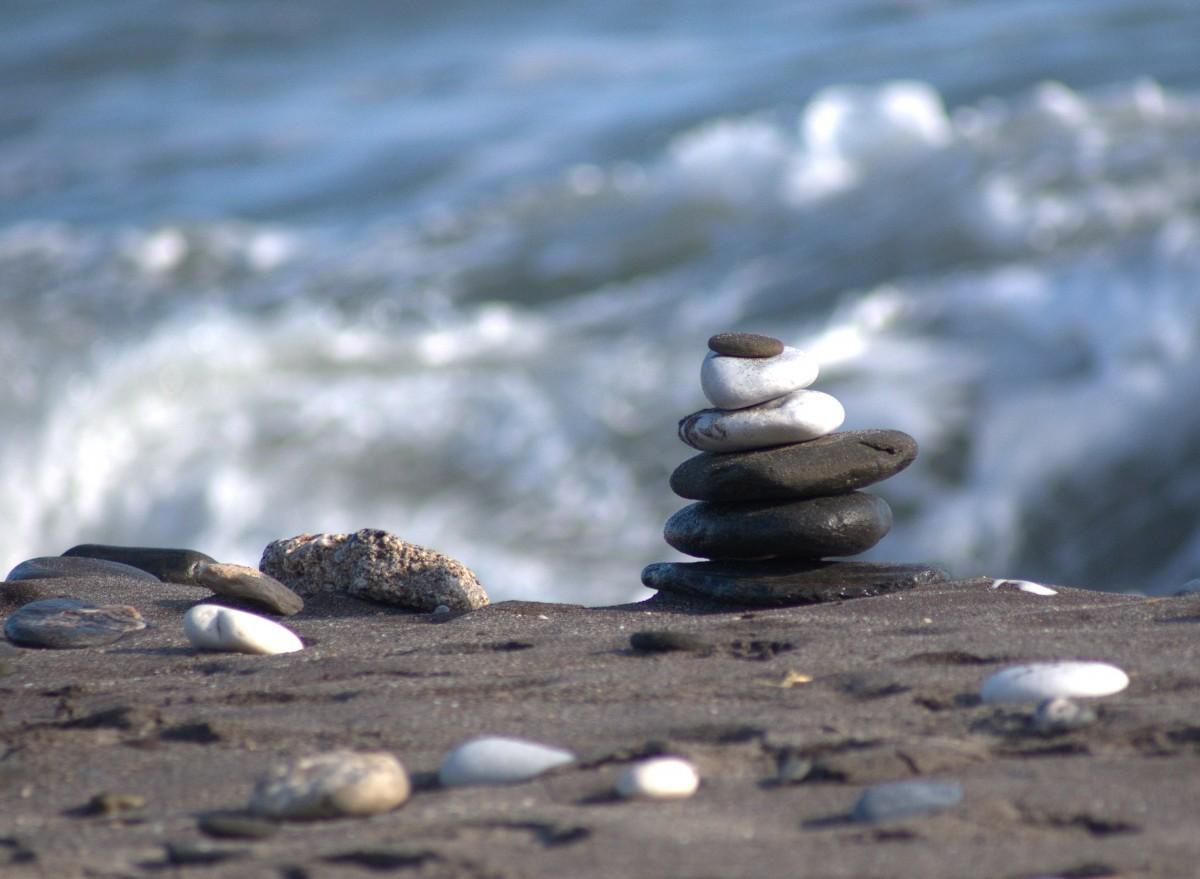 free images   beach  sea  coast  sand  rock  ocean  horizon  shore  wave  summer  vacation