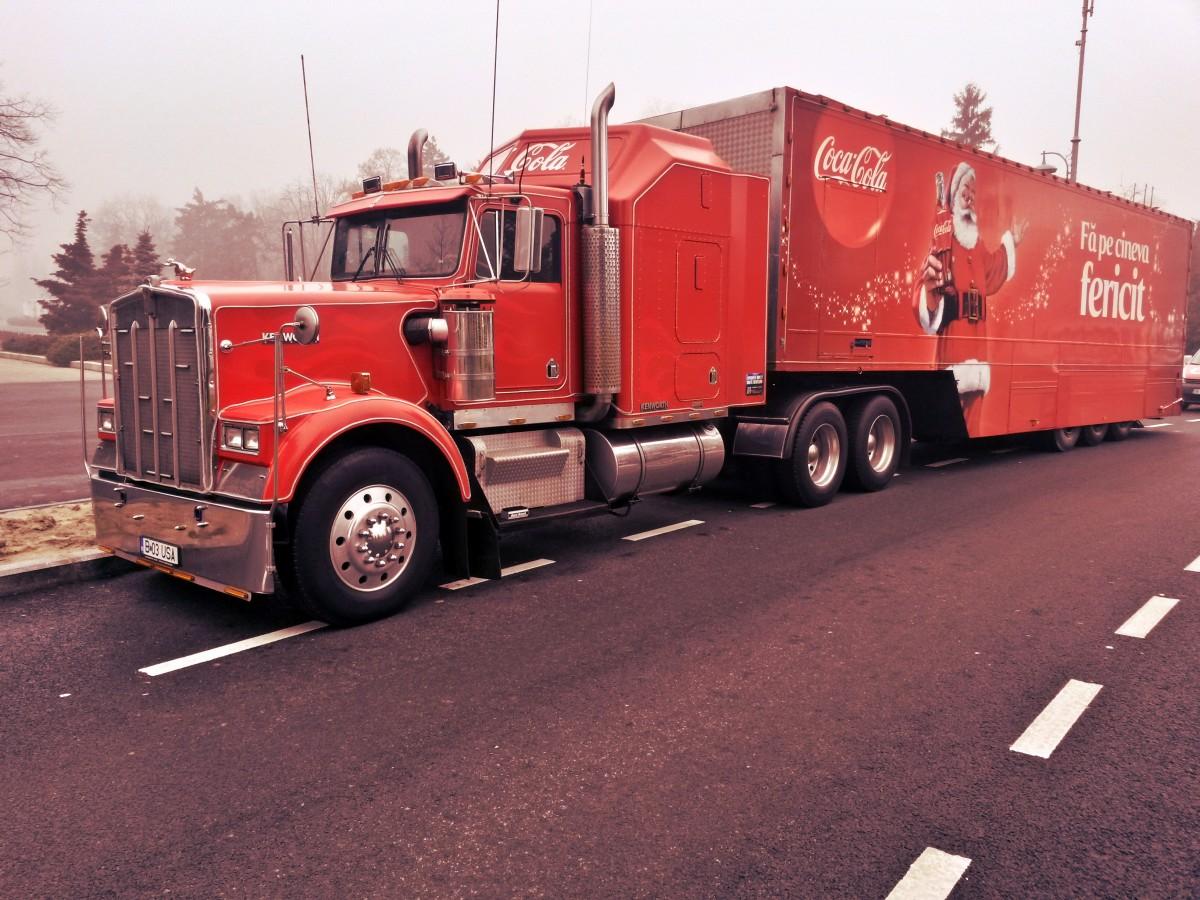 Free Images : asphalt, transport, christmas, coca cola, fire ...