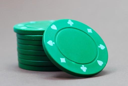 Poker Chips Verteilung
