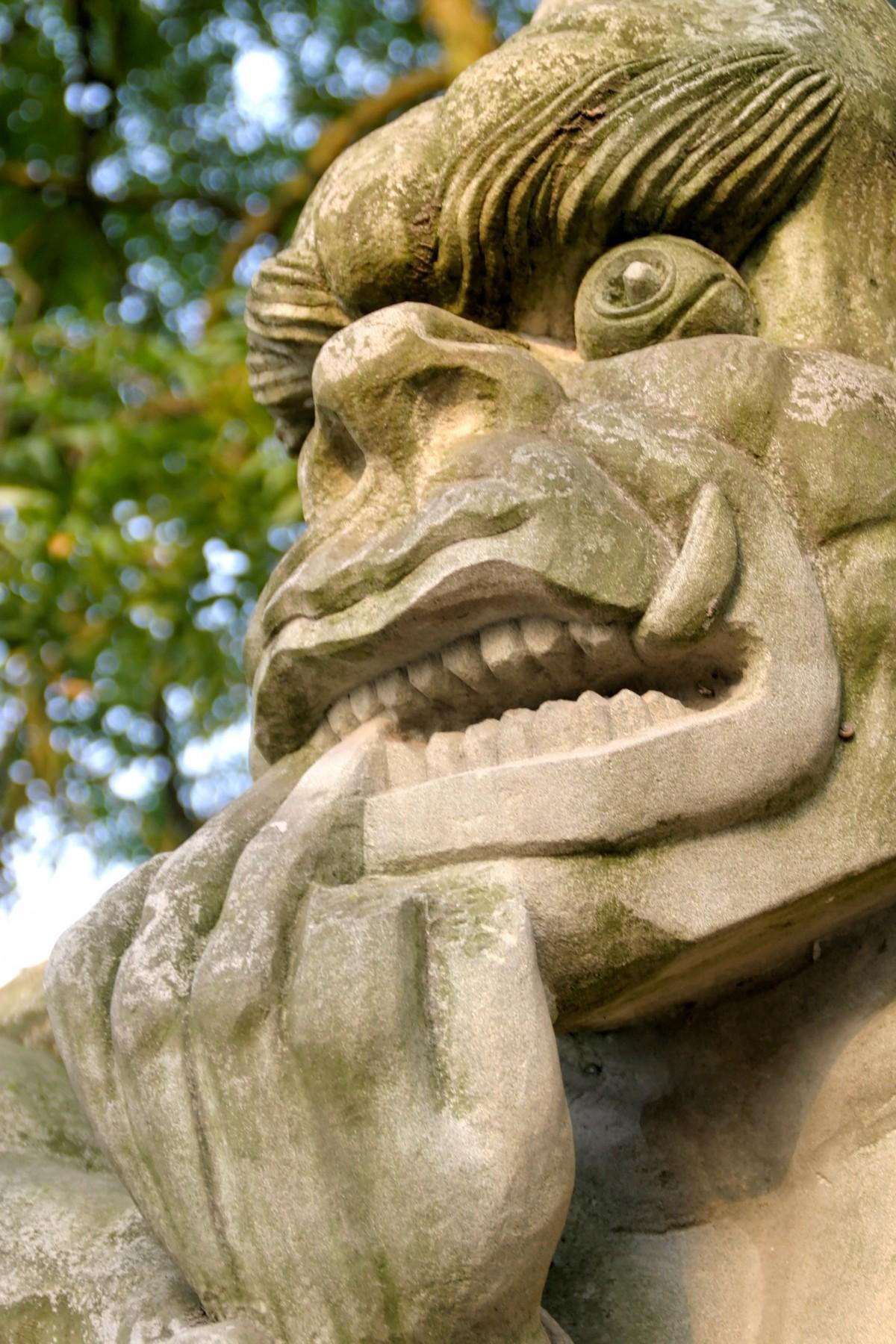 Free images monument statue gargoyle sculpture art