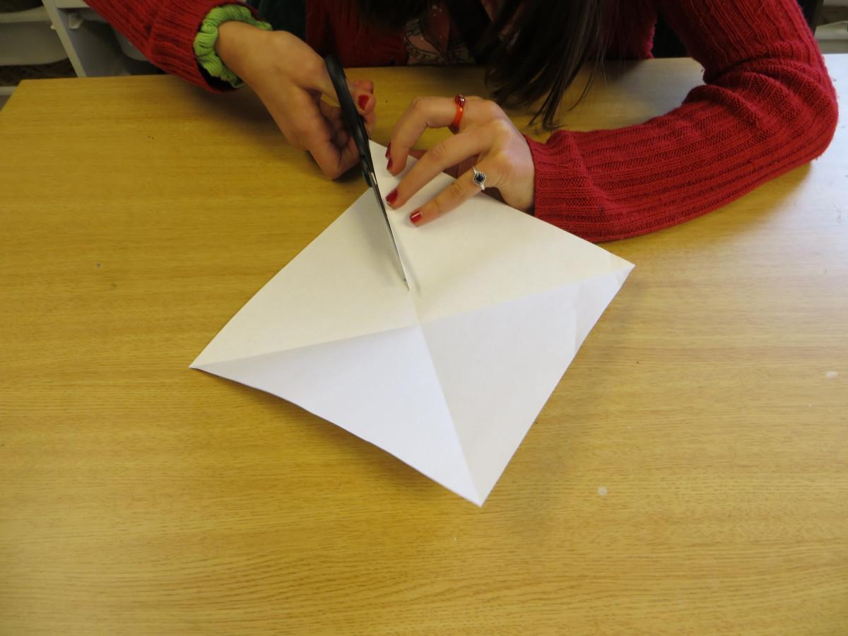 Оригами из бумаги своими руками без клея и ножниц