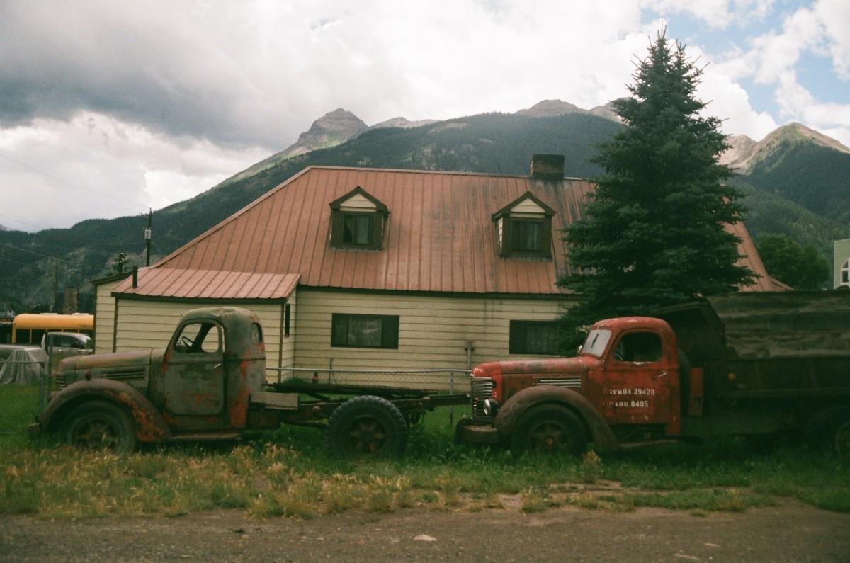 Gambar : tanah pertanian, rumah, mengangkut, kendaraan ...