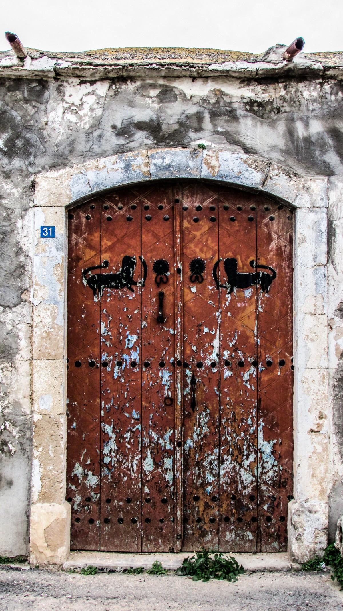 Fotos gratis arquitectura ventana pueblo pared arco for Puerta blindada antigua casa gutierrez