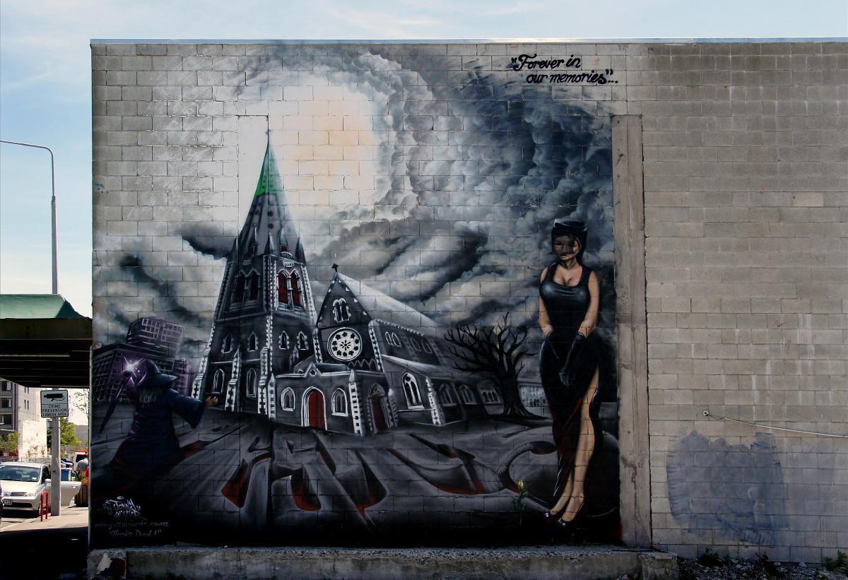 Graffiti wall christchurch - Wall Street Art Art Mural Streetart Image