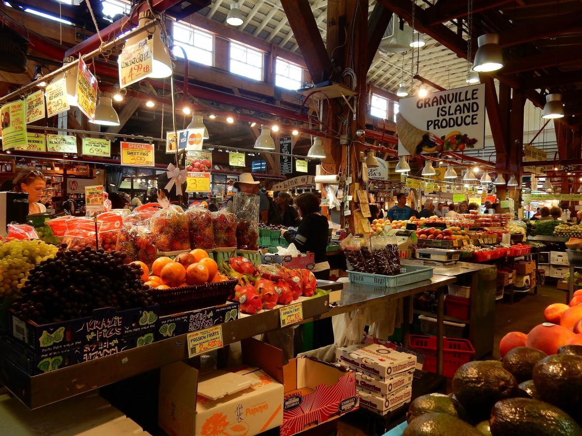 Stores Inside Granville Island Market