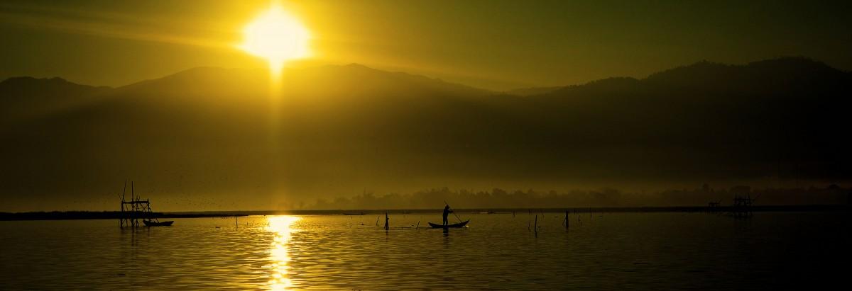 Free Images : sea, horizon, silhouette, sunrise, sunset ...