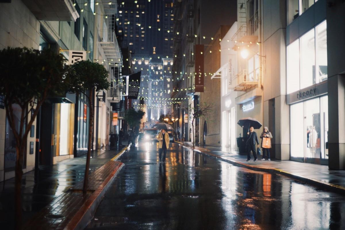 Красивые картинки вечернего дождя