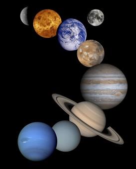 スペース,月,車両,サークル,地球,図