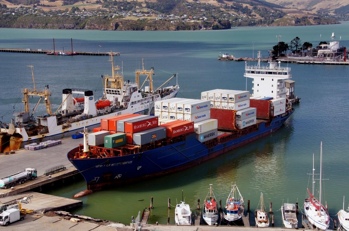 Fotos gratis mar oceano enviar veh culo puerto puerto barco de carga camino acu tico - Contenedores de barco ...
