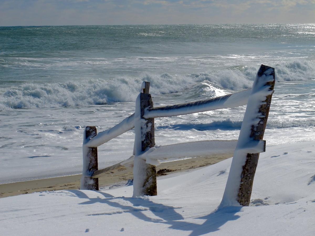 snow winter seasons sea - photo #26
