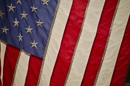 blanco,volador,rojo,símbolo,bandera,Estados Unidos
