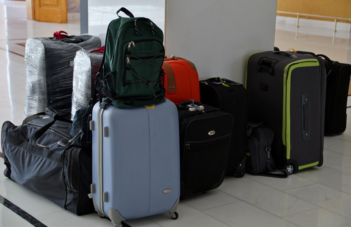 旅行 荷物 製品 スーツケース 詰め込まれた 荷物 スーツケース