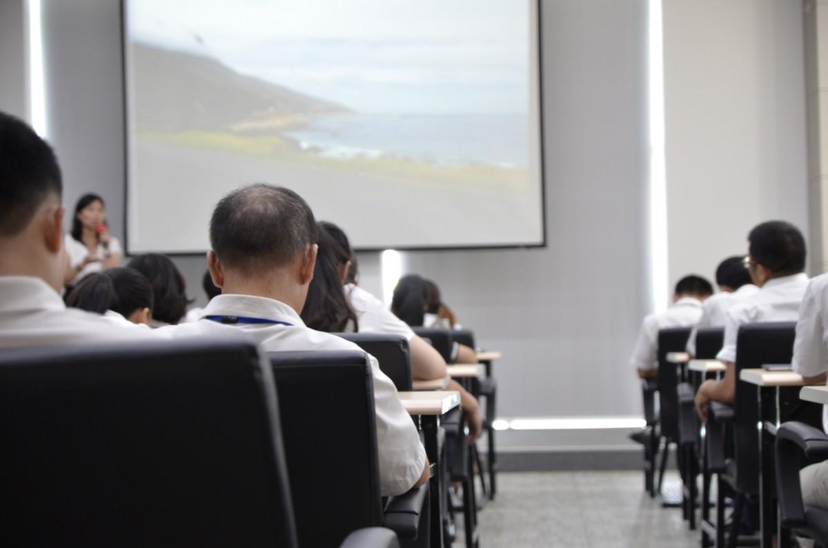 Лекция в классе. Фото носит иллюстративный характер