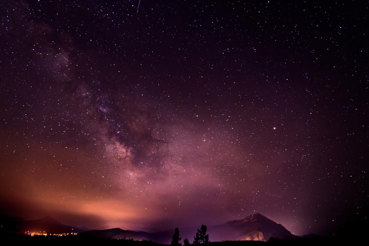 Красивые картинки ночного неба