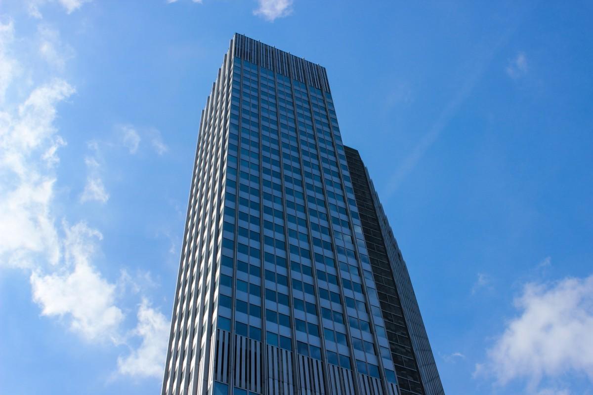Images gratuites ciel horizon b timent gratte ciel for Livres architecture batiment construction